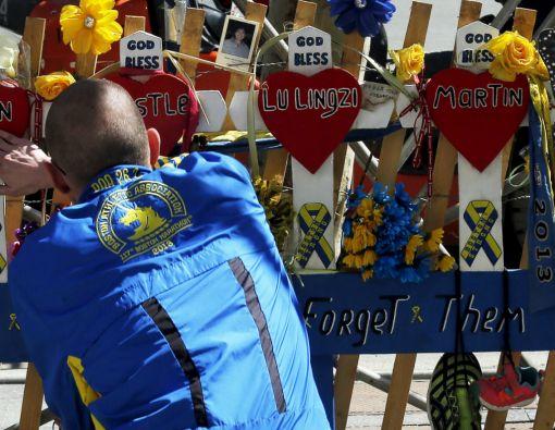 La familia de la víctima más joven del ataque a la maratón dijo que se opone a la pena capital, prefiriendo la cadena perpetua. Foto: REUTERS