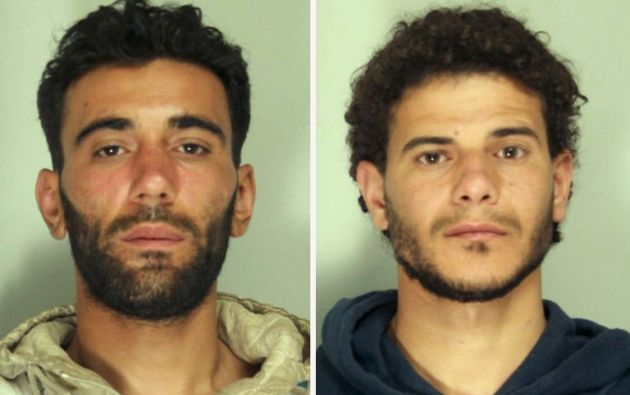 Mohammed Alì Malek y el sirio Mahmud Bikhit. Foto: AFP