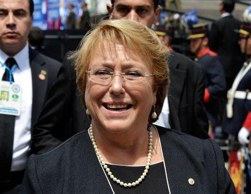 El escándalo por el denominado caso Caval afectó significativamente la imagen de la presidenta Michelle Bachelet. Foto: