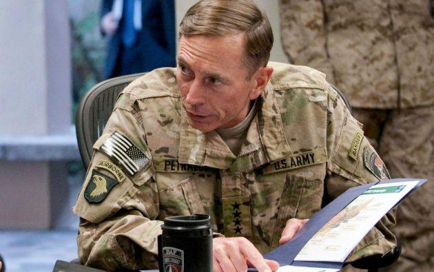 David Petraeus es un exgeneral conocido en EE.UU. como el hombre que cambió el curso de la guerra en Irak.