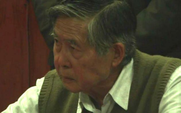 El traslado de Fujimori a la clínica se realizó en medio de estrictas medidas de seguridad.
