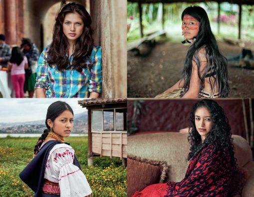 """El """"Atlas de la Belleza"""" de la fotógrafa rumana Mihaela Noroc incluye mujeres ecuatorianas."""