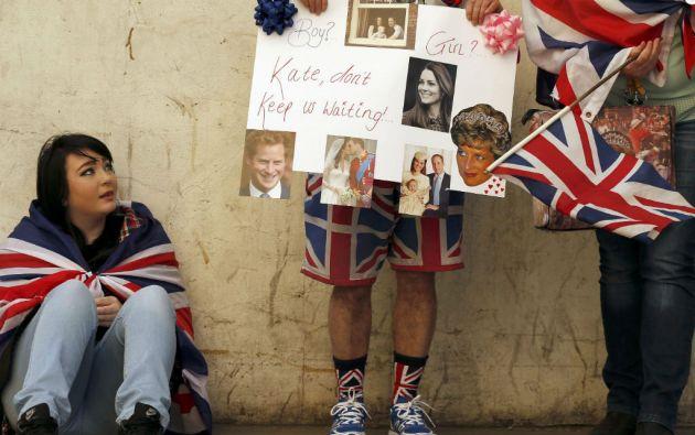 En caso de que el nuevo bebé real fuese niña, los nombres preferidos son Diana, seguido de Alicia y Carlota. Foto: REUTERS