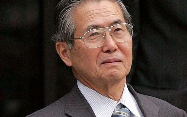 Fujimori fue condenado en 2009 a 25 años de prisión por delitos de lesa humanidad.