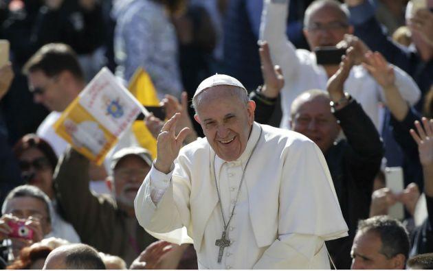 El papa Francisco visitará Guayaquil y Quito entre el 6 y el 8 de julio. Foto: REUTERS