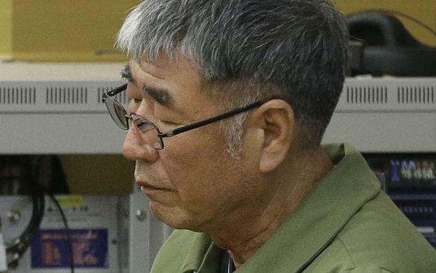 Lee Jun-seok, capitán del Sewol. Los fiscales habían pedido pena de muerte por estimar que había abandonado a los pasajeros sabiendo a ciencia cierta que iban a morir. Foto: REUTERS