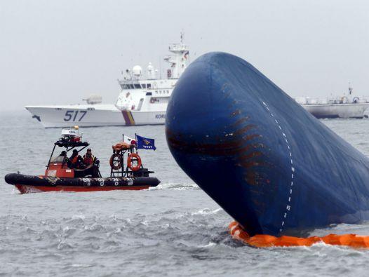 La tragedia del Sewol es uno de los peores accidentes marítimos de los últimos tiempos. Foto: REUTERS