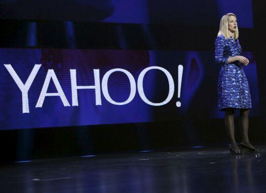 """""""Yahoo! está en medio de una transformación de varios años para llevar a una icónica compañía de vuelta a la grandeza"""", dijo Marissa Mayer, CEO de la compañía. Foto: REUTERS"""