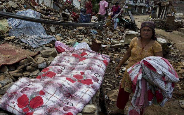 Terremoto en Nepal. Foto: REUTERS