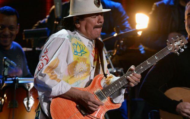 """""""El próximo disco que estamos en estos momentos terminando es con la banda original, con la que hicimos 'Santana I', 'Abraxas' y 'Santana III'"""", señaló Santana."""