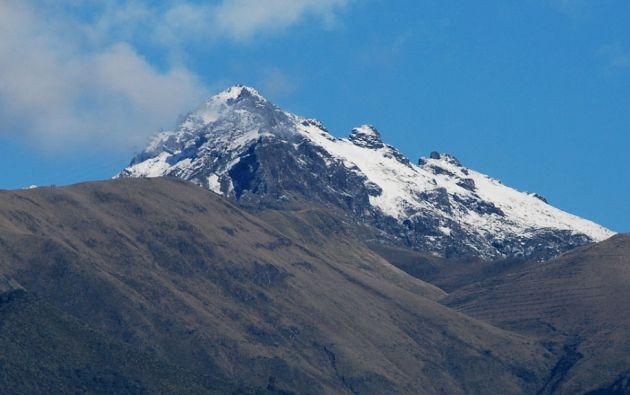 Volcán Pichincha.