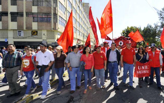 Organizacionesmarcharán este viernes por el Día del Trabajo.  Foto: Archivo Vistazo