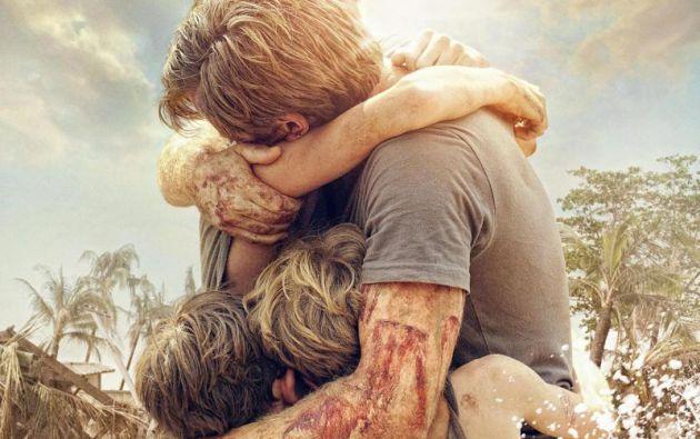 """""""Lo Imposible"""" narra la historia de una familia que sobrevivió al tsunami de 2004."""