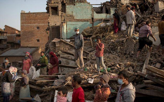 La dimensión del desastre ha desbordado la capacidad de las autoridades. Foto: REUTERS
