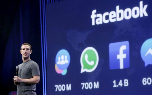 Mark Zuckerberg, fundador de Facebook. Foto: REUTERS
