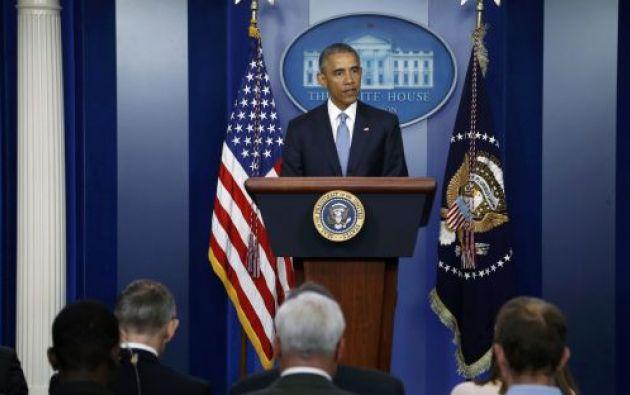 Obama aludió a la muerte de varias personas desde el año pasado por acciones policiales. Foto: Archivo / REUTERS.