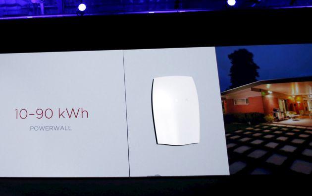 El Tesla Powerwall, que costará 3.500 dólares, saldrá a la venta en EE.UU. a finales de 2015, pero el objetivo es venderlo en mercados internacionales en algún momento del 2016. Foto: REUTERS