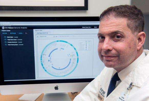 Los centros médicos utilizan la súpercomputadora Watson ante el desafío de los datos de la medicina de precisión. Foto: Mary Butkus / IBM