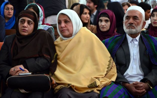 Familiares de Farjunda. Foto: AFP
