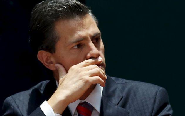 """Peña Nieto resaltó que América Latina es una """"región vibrante"""" que en años recientes ha logrado """"un rol decisivo como motor de crecimiento y progreso social"""". Foto: REUTERS."""