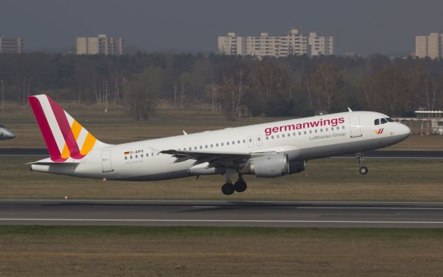 El avión de Germanwings se estrelló en los Alpes franceses en marzo. Foto: REUTERS