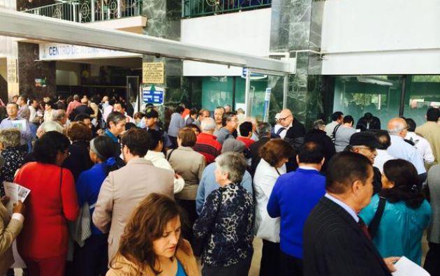 Ya no será necesario que los retirados acudan a las oficinas del Instituto Ecuatoriano de Seguridad Social (IESS) para el trámite. Foto: Ecuavisa.com