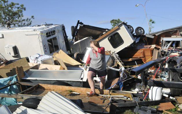 Varias viviendas fueron destruidoas en Oklahoma. Foto: REUTERS
