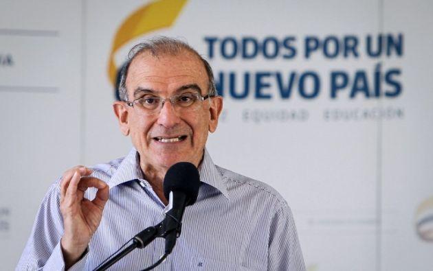 Humberto de la Calle. Foto: AFP