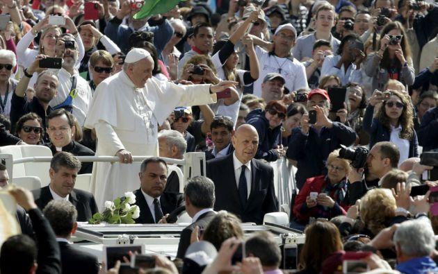 Francisco llegará a Ecuador el 5 de julio. Foto: REUTERS