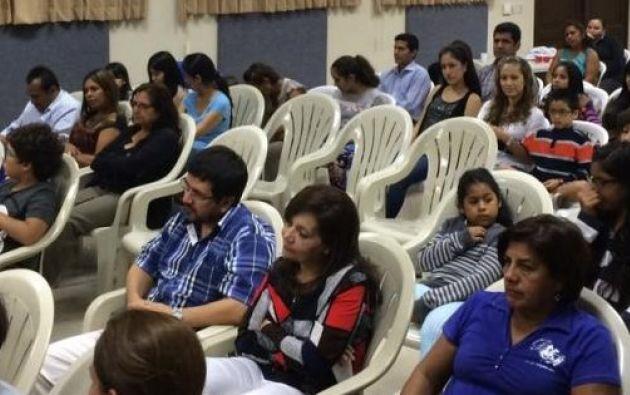 Miembros de la Conferencia Episcopal creen que necesitarán aproximadamente 20 mil voluntarios. Foto: Ecuavisa.
