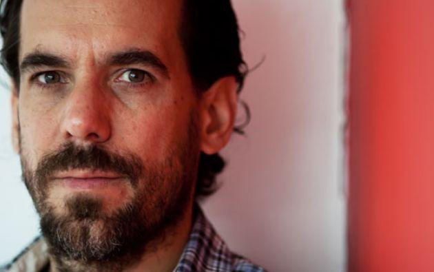 """Con """"Miramar"""", David Miklos celebró el décimo aniversario de su primera novela. Foto: Sin Embargo."""