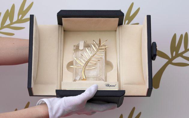 El Palme d'Or es el premio máximo de los galardones que se entregarán.