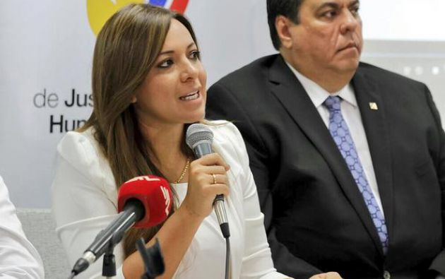 Lady Zuñiga. Foto: Ministerio de Justicia