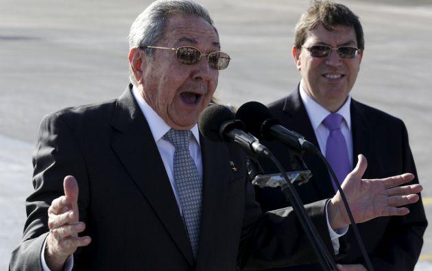 Castro destacó que Washington y La Habana están ahora discutiendo algunos temas pendientes para reabrir las embajadas. Foto: REUTERS.
