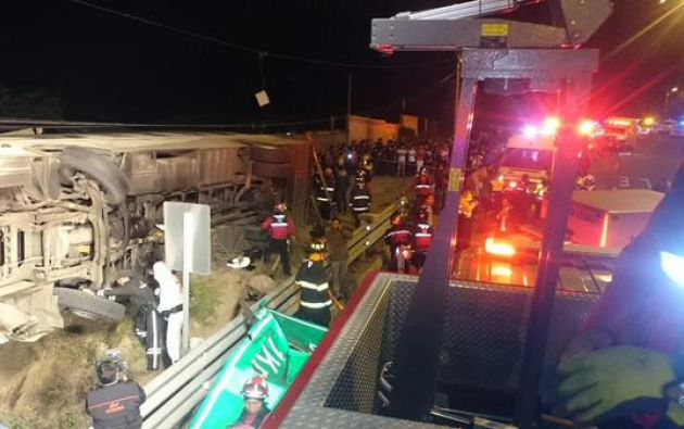 Foto: Cuerpo de Bomberos de Quito