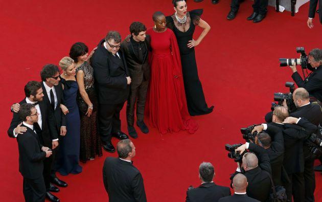 Jake Gyllenhall y Sienna Miller, junto a los hermanos Coen, Guillermo del Toro, Rossy de Palma o Sophie Marceau, conforman el jurado. Foto: REUTERS.