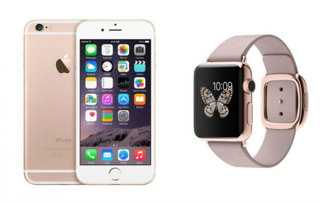 Medios internacionales especulan que la versión en oro rosa se vería así, a juego con el iPhone Watch en este tono.
