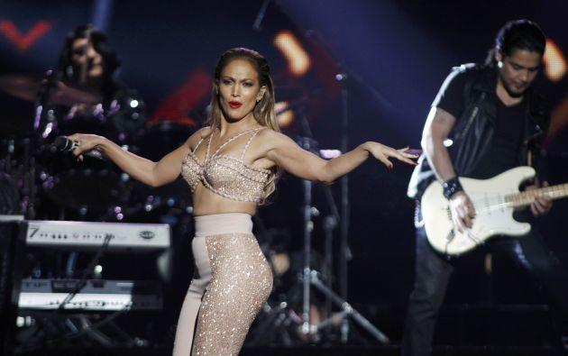 Jennifer López durante su presentación en los Latin Billboards en pasado 30 de abril. Foto: Archivo / REUTERS.