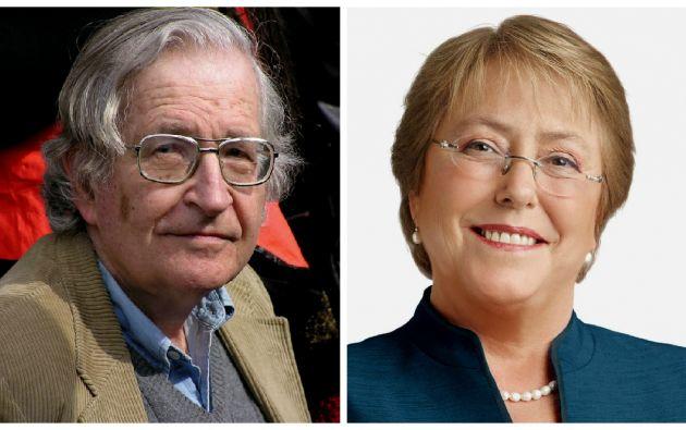 """""""Quiero expresar mi profunda preocupación por la salud de los expresos políticos actualmente huelga de hambre y sus demandas de justicia y reparación de acuerdo con la ley internacional"""", dijo Chomsky en la carta."""
