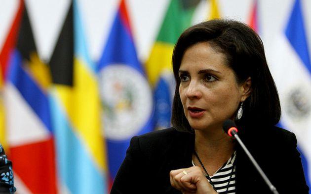 Landázuri es actualemente viceministra de Movilidad Humana. Foto: Flickr / Cancillería del Ecuador.