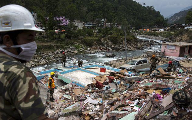 En total, unas 400.000 casas han quedado destruidas y otras 280.000 están dañadas. Foto: REUTERS.