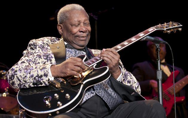 """El """"rey del blues"""" falleció este jueves en Las Vegas (Nevada, EEUU) a la edad de 89 años."""