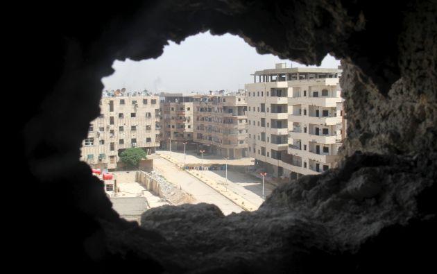 Durante el conflicto unos 30 edificios propiedad del Ministerio han sido destruidos totalmente y 107, de forma parcial. Foto: REUTERS.
