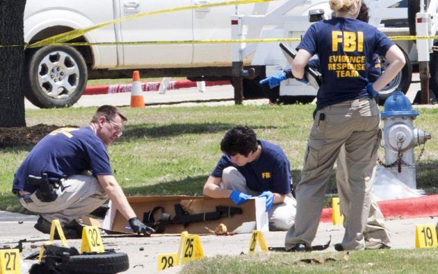Además de los fallecidos hubo 18 heridos en el tiroteo, en el que la policía de Waco cree que participaron cinco bandas distintas. Foto: REUTERS.