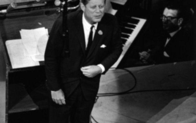 Se rumoraba que Kennedy tenía un idilio con la artista. Foto: Daily Mail UK.