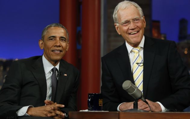 En su último programa tuvo de invitado a Barack Obama. Decenas de celebridades asistieron para despedir al icónico presentador. Fotos: REUTERS.