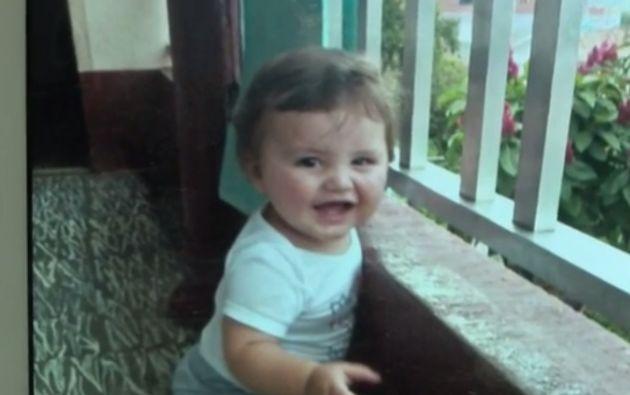 Jhoset Díaz, de 11 meses.