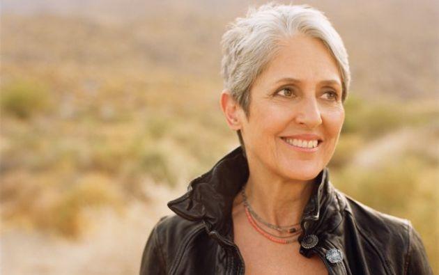La cantante ha dedicado gran parte de su vida al activismo por los derechos humanos. Foto: Facebook / Joan Baez.