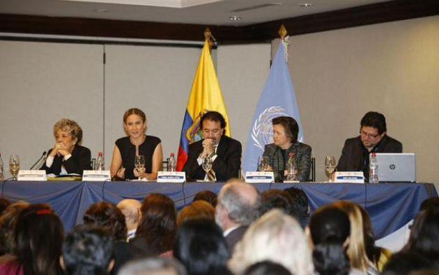 Rueda de prensa Ministerio Coordinadora de Desarrollo Social.