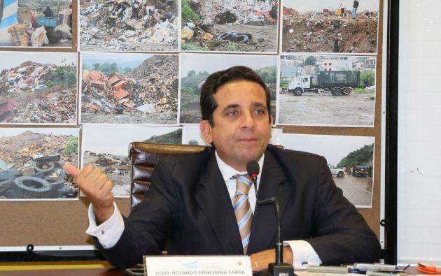 Panchana asumió el cargo en noviembre de 2013. Foto: Flickr / Gobernación del Guayas.